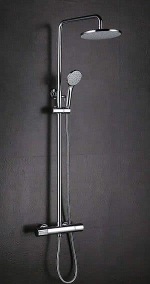 conjunto ducha sin grifo