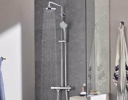 tipos de conjuntos de ducha para comprar