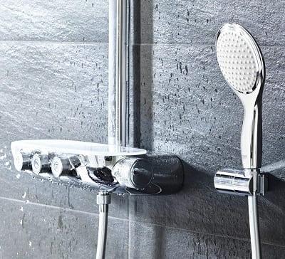 conjunto ducha termostatica grohe