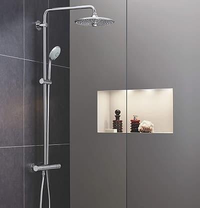 ✅ conjunto de ducha termostática Grohe Euphoria System 260