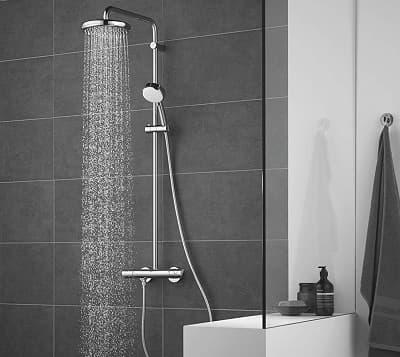 ✅ conjunto de ducha termostática Grohe Tempesta Cosmopolitan 210